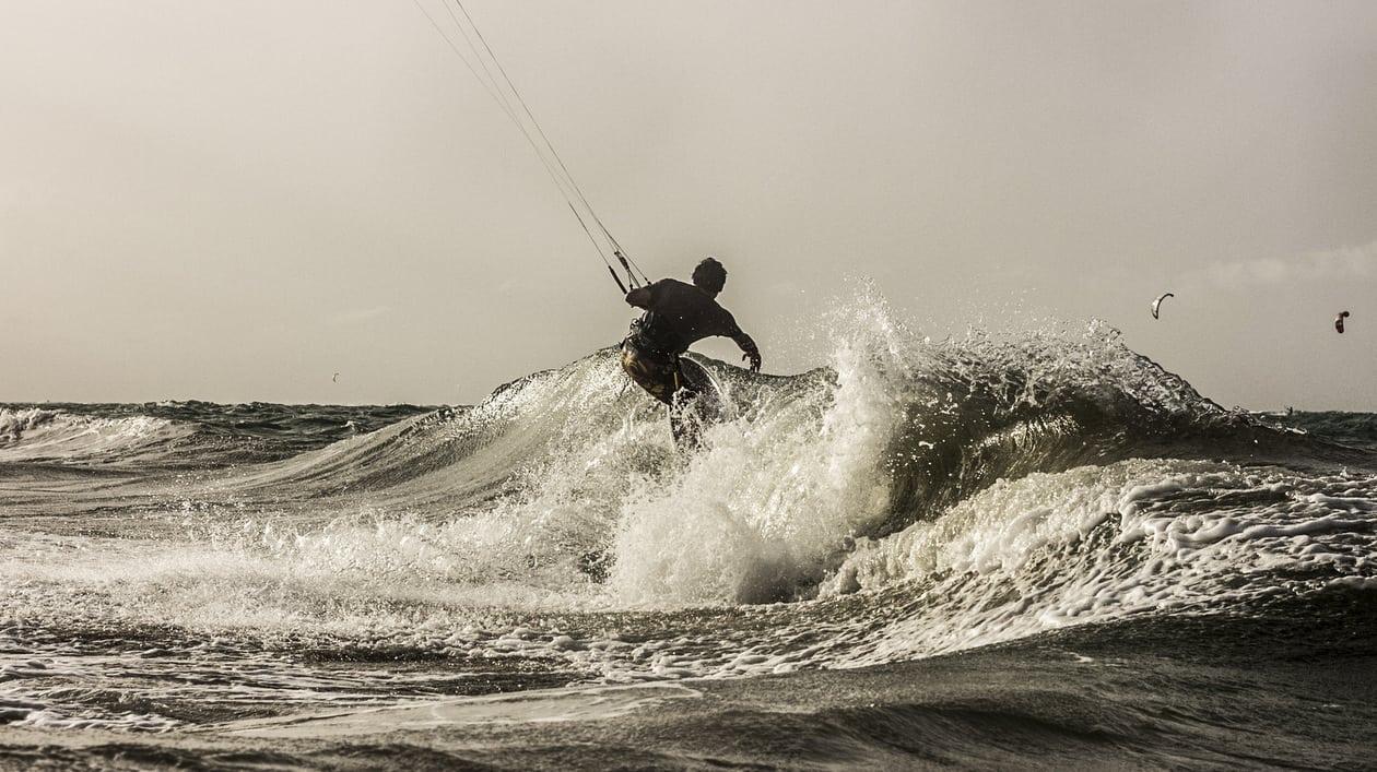 kiteboarding downwinder caribbean