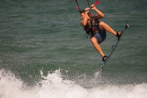 Kitesurfing and Spanish Lessons