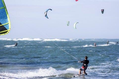 Kiteboarding + Fitness