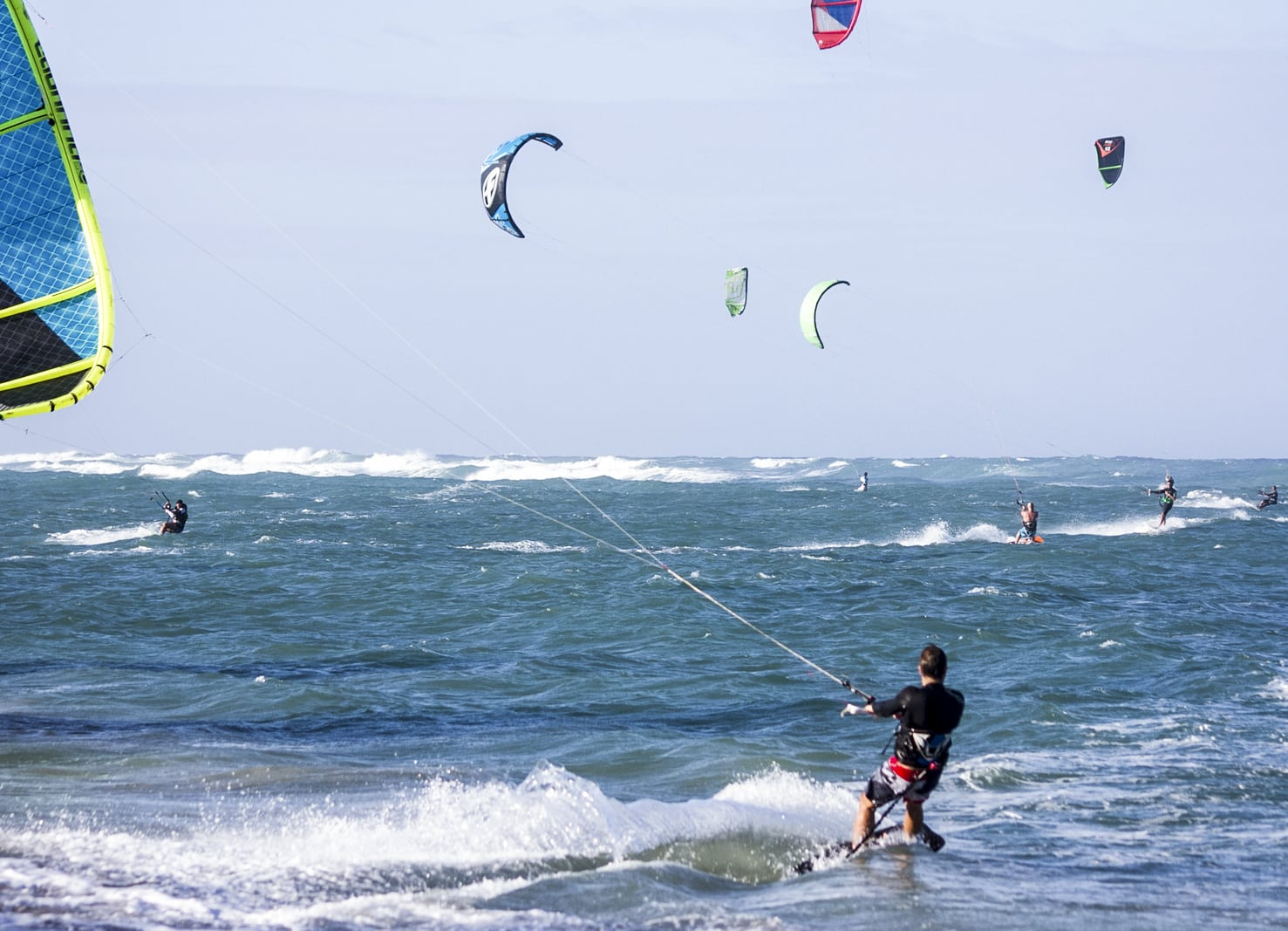 Crossfit and kiteboarding
